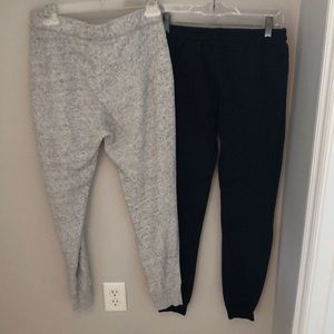Abercrombie & Fitch Pants - 2 pairs women's sweatpants ....both size small